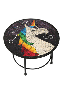 Unicorn Mosaic Coffee Table