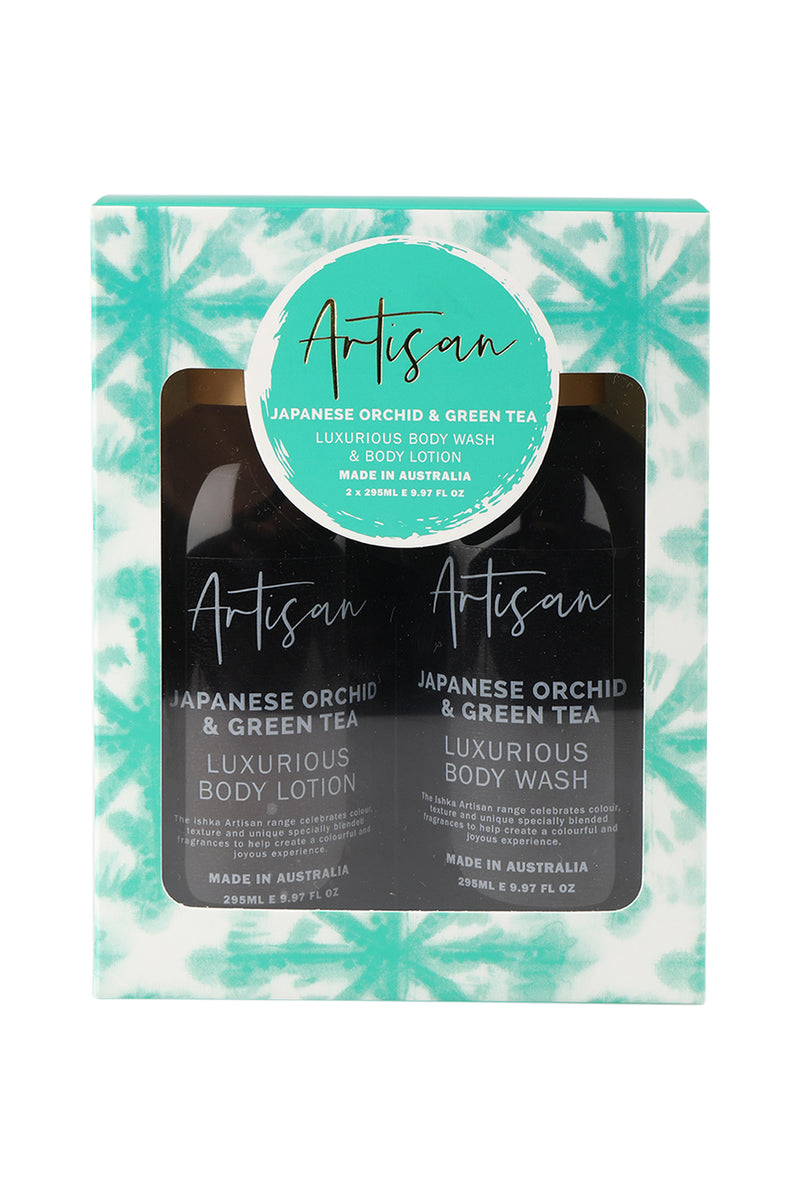 Artisan Body Wash & Lotion Set