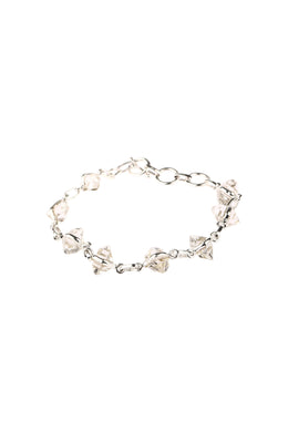 Fine Raw Herkimer Linked Bracelet