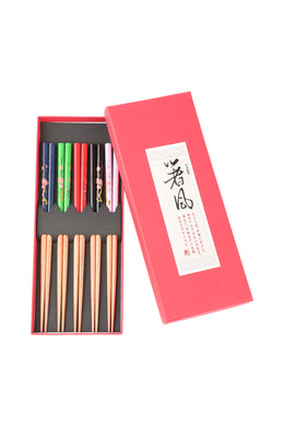 Cherry Blossom Chopstick Set of 5