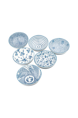 Ming Blue Bowl Set of 6