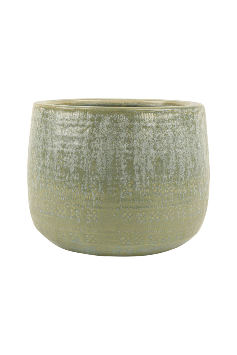 Medium Textured Bowl Ceramic Pot