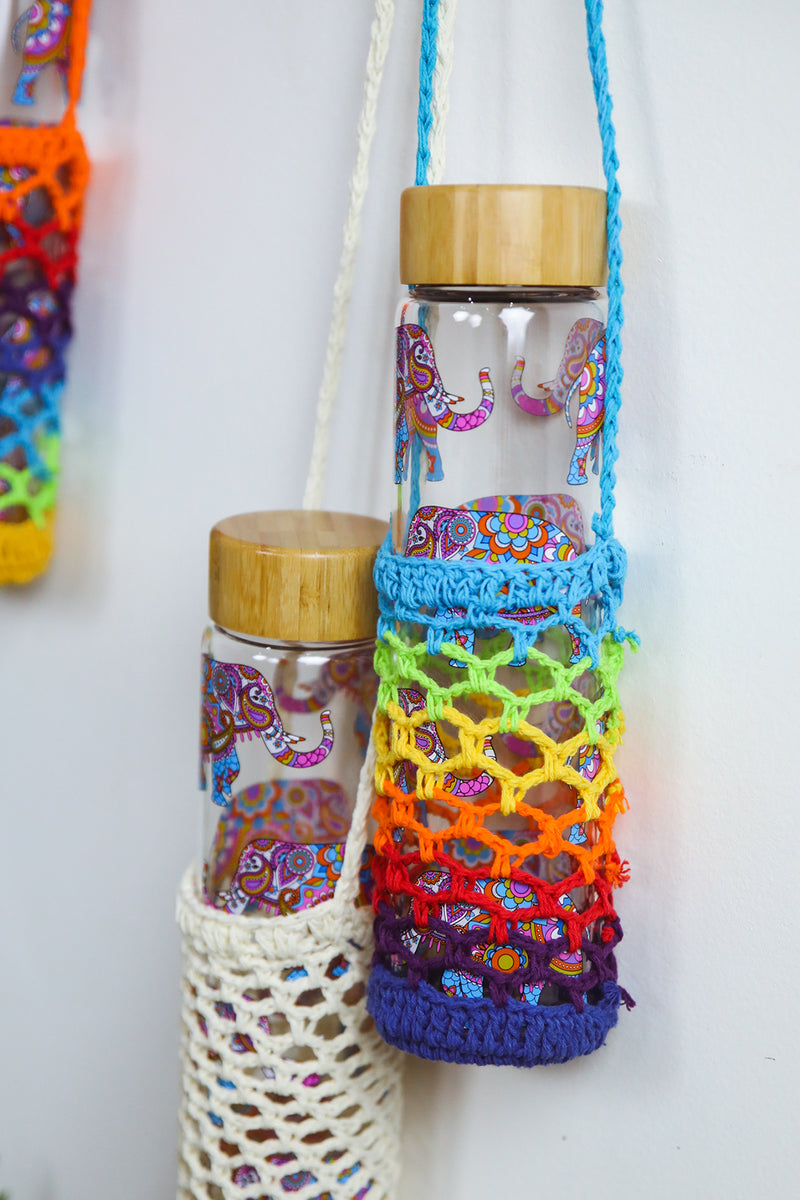 Crochet Bottle Holder Bag