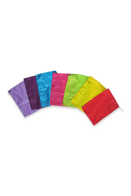 Colourful Silk Square Flags