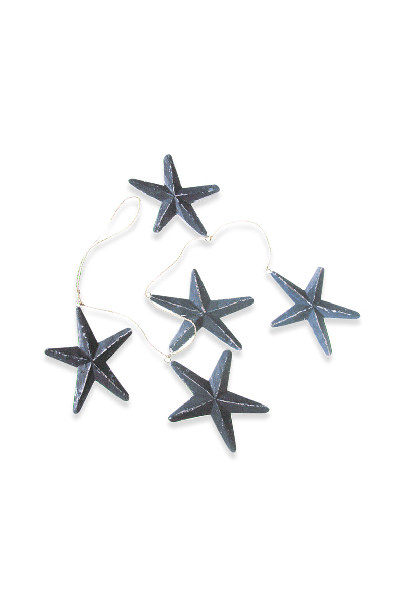 Blue Starfish String Mobile