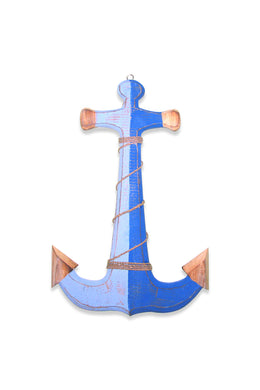 Roped Blue Anchor Hanger