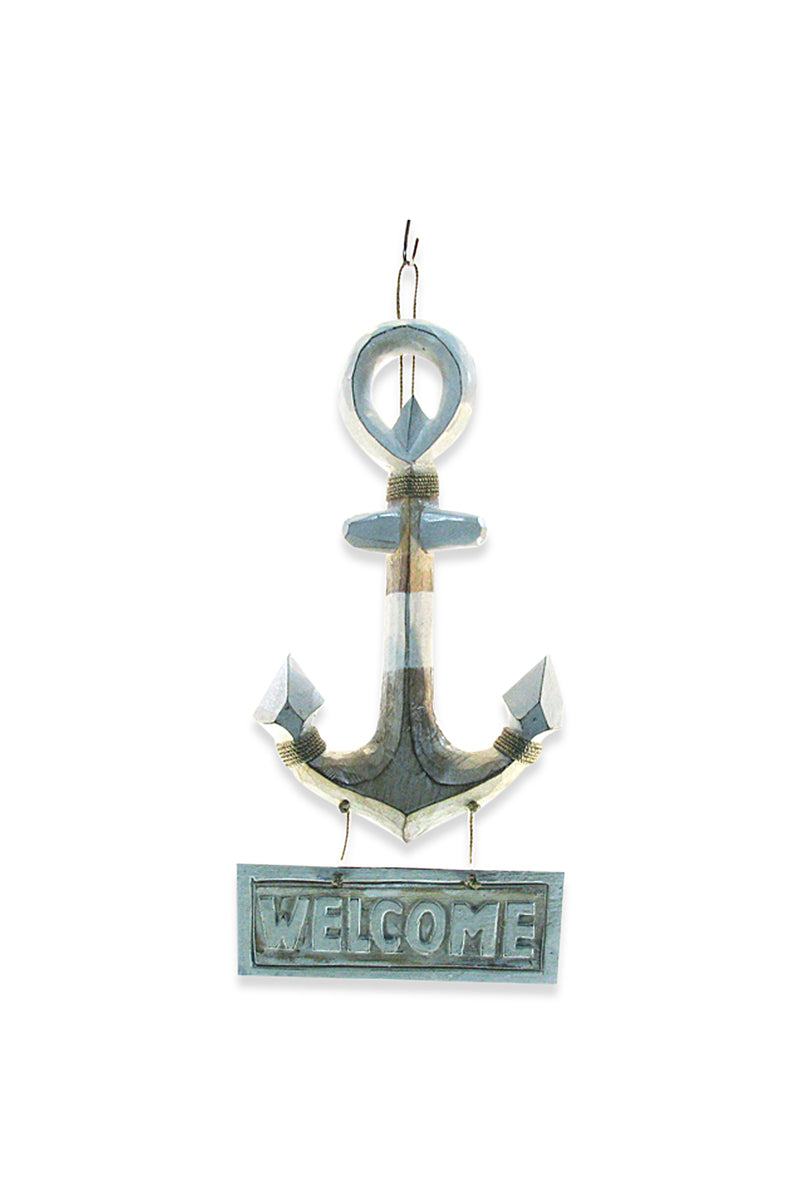 Welcome Anchor Wall Hanging