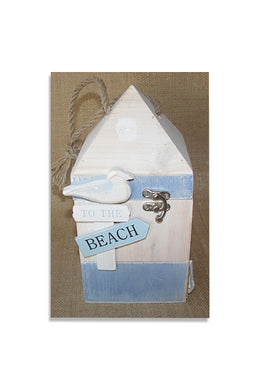 Large Beachy Trinket Box
