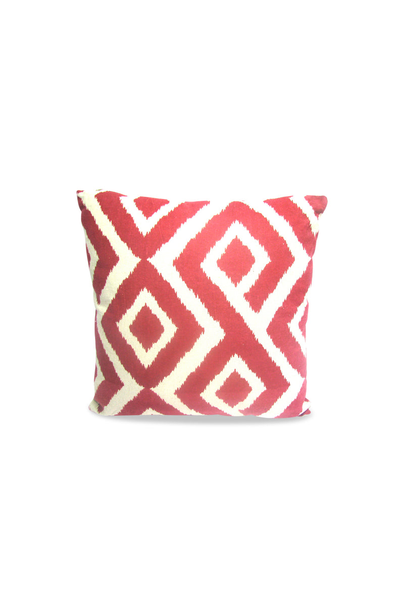 Red Zig Zag Cushion