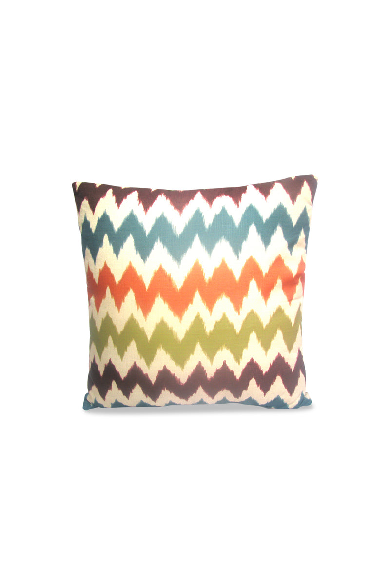 Colourful Zig Zag Cushion
