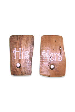 His & Hers Wall Hooks