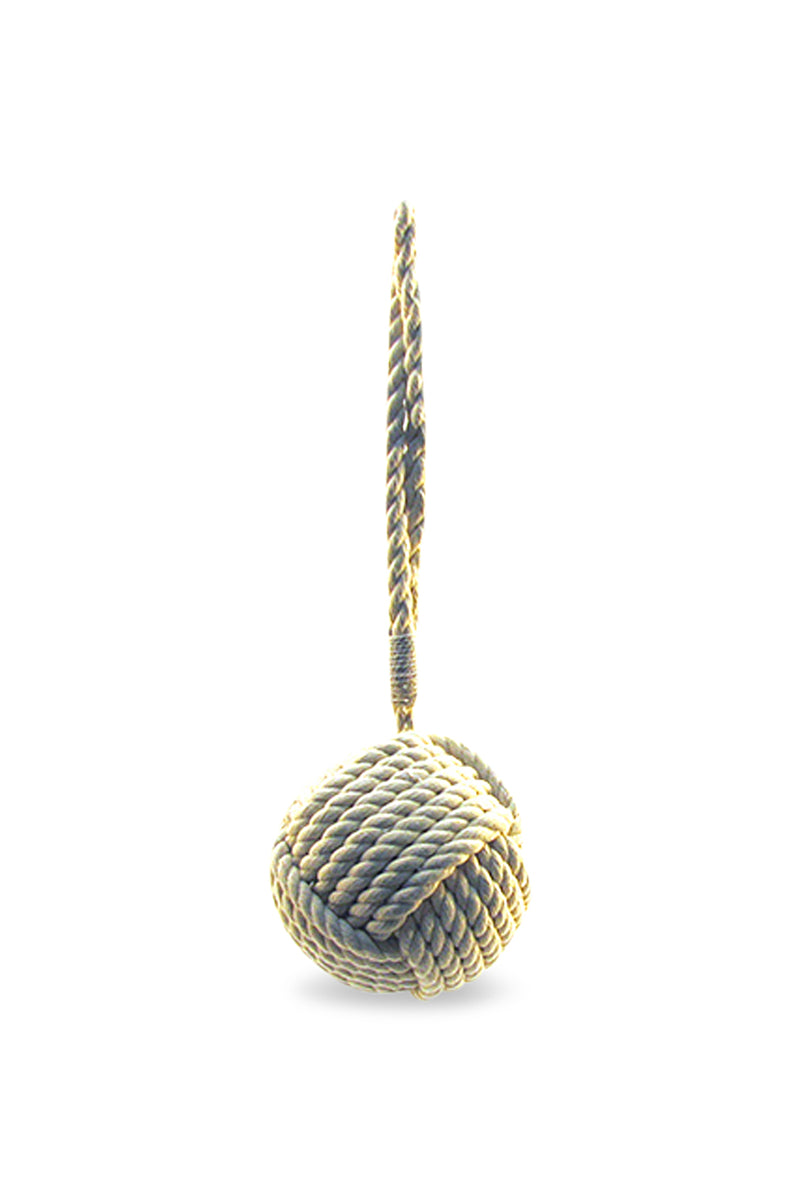 Natural Rope Ball Door Stop