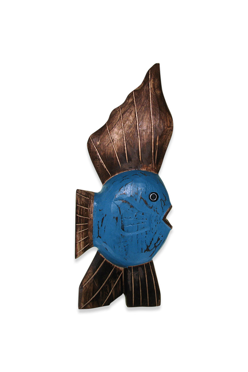 Blue Timber Sunfish Statue