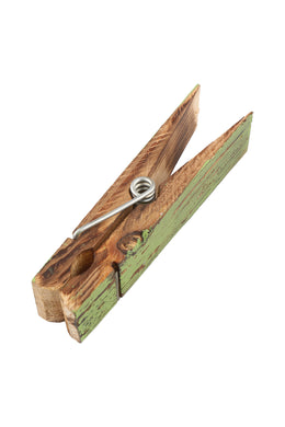 Big Green Wooden Peg