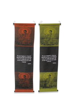 Buddha Quote Affirmation Banner