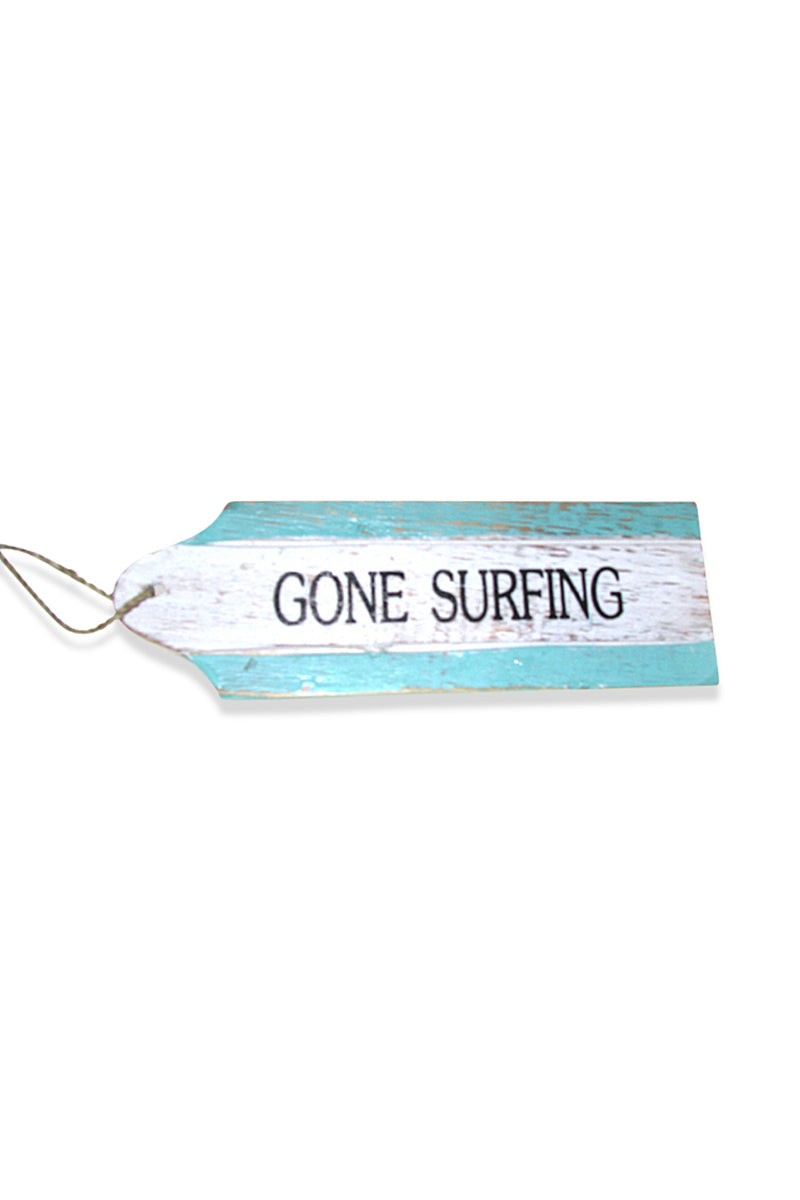 Gone Surfing Door Hanger