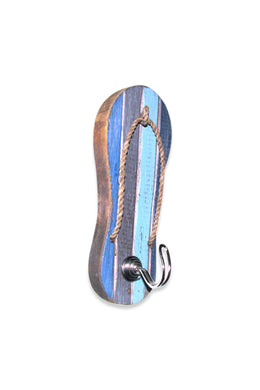 Blue Sandal with Hook
