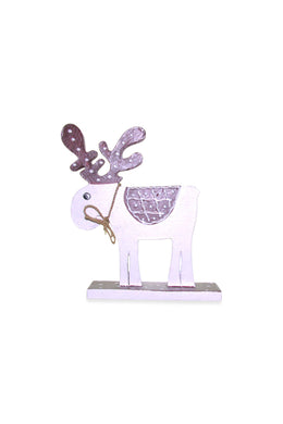 Red Standing Reindeer Ornament