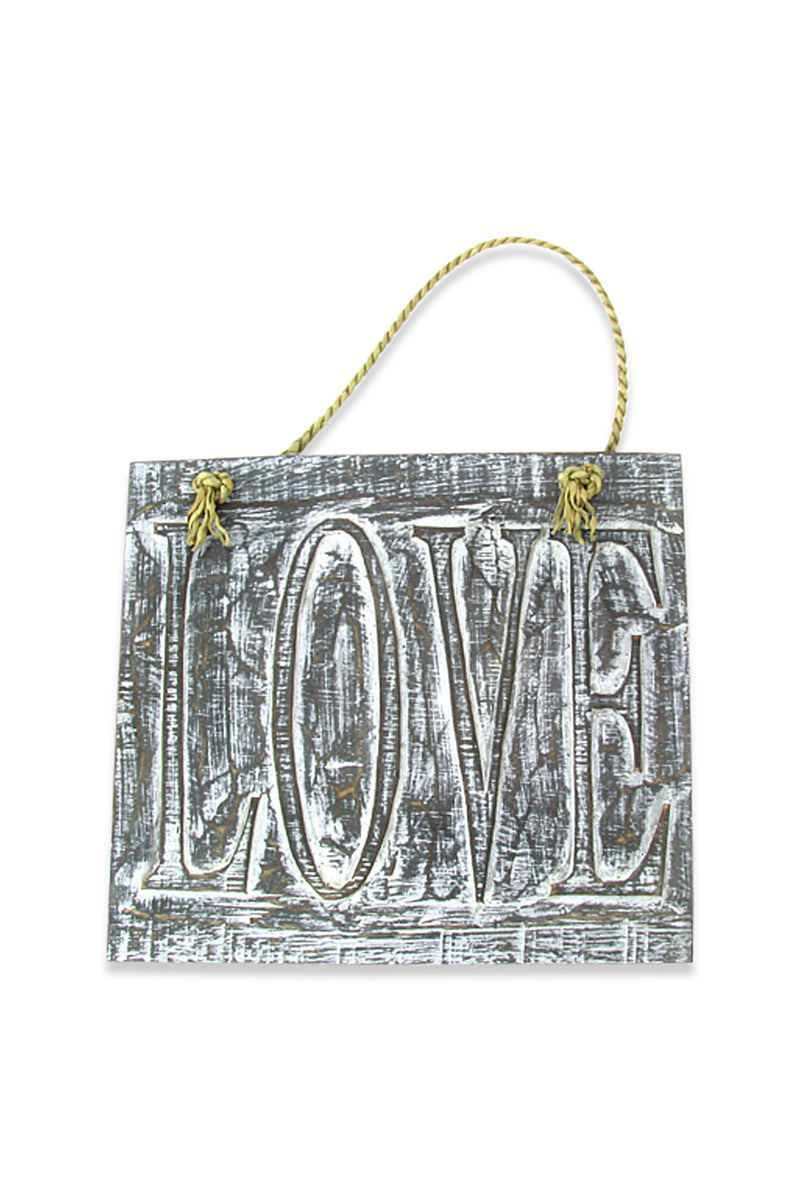 Love Plaque Wall Hanging