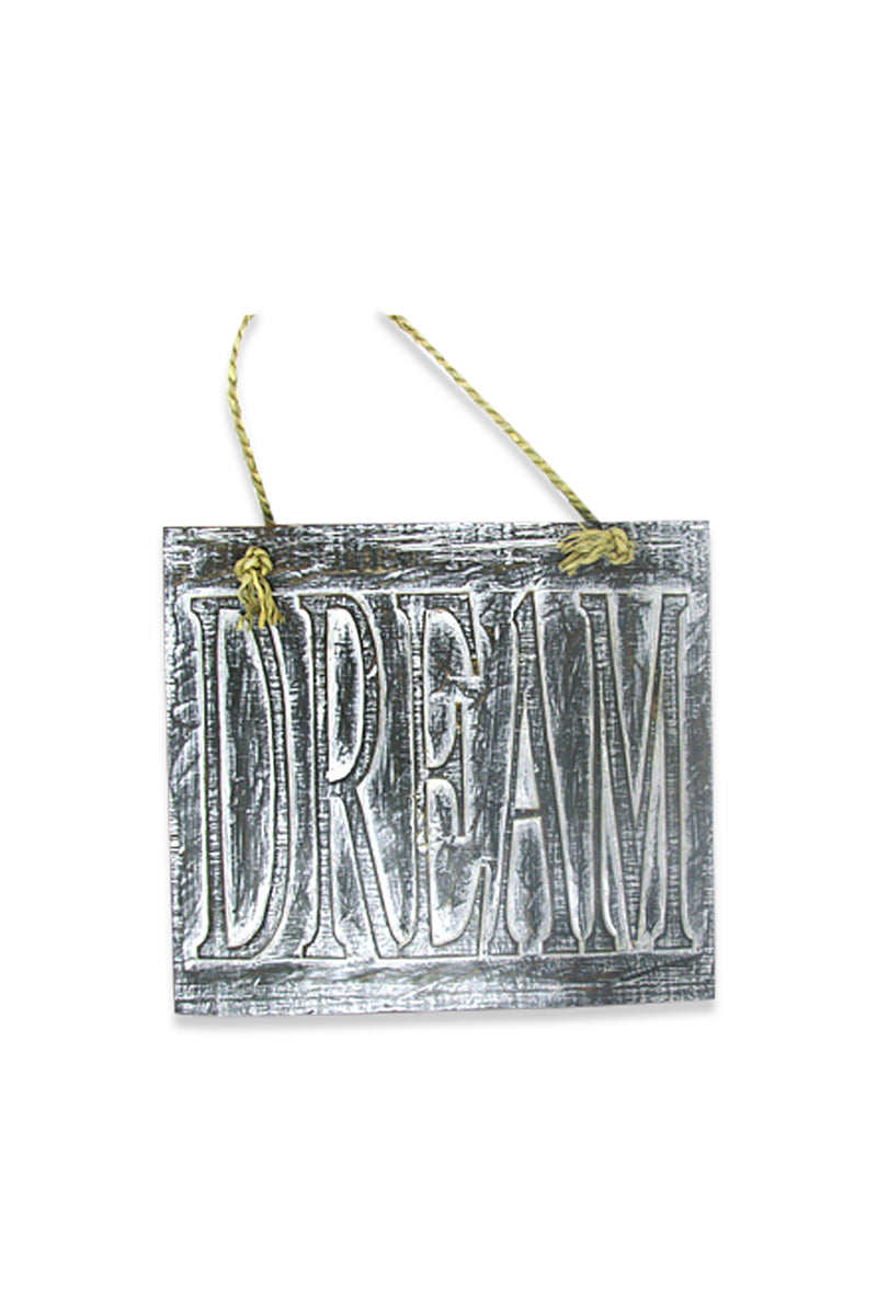 Dream Plaque Wall Hanging