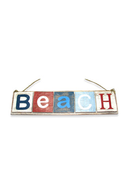 Beach Blocks Sign