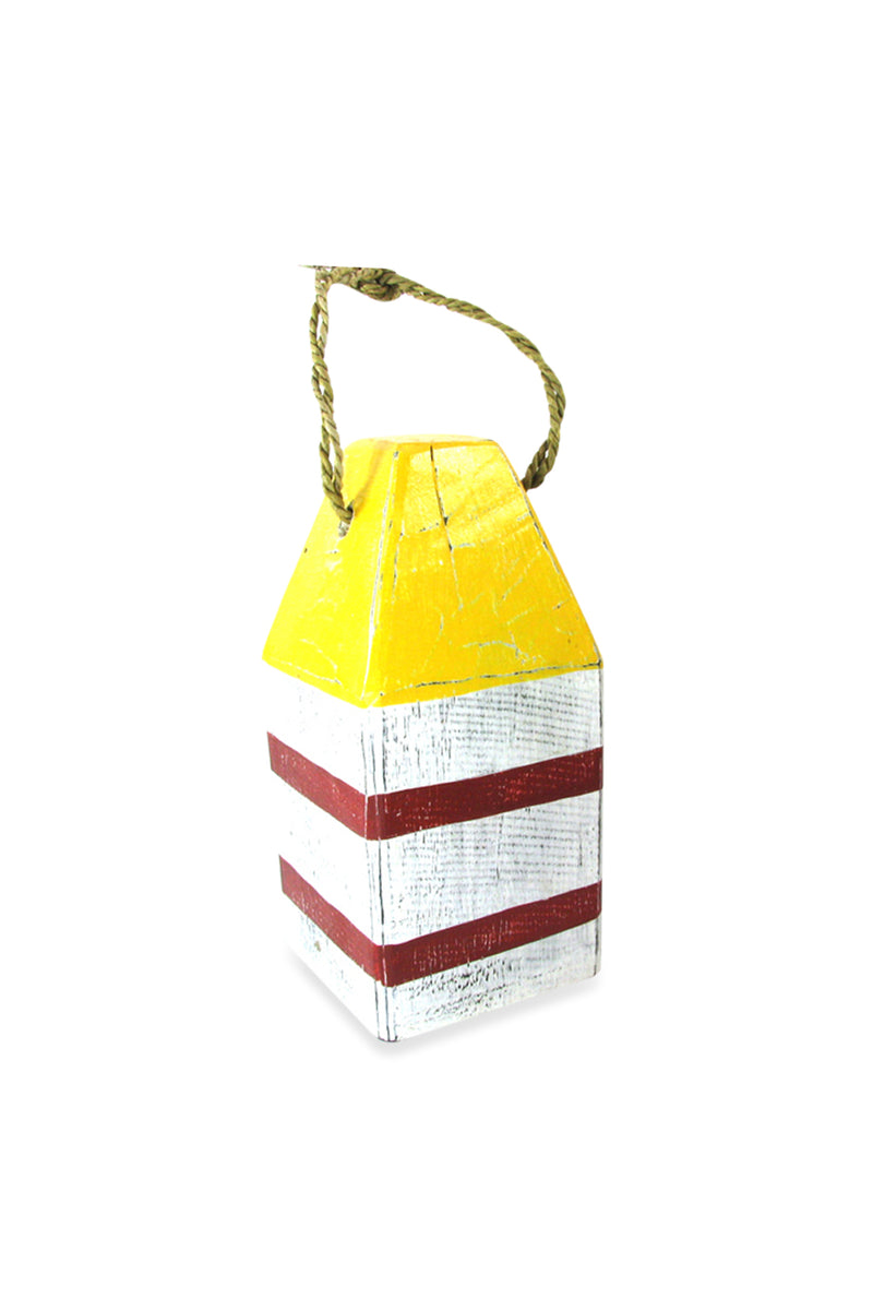 Yellow Top Hanging Float Ornament