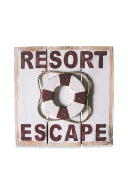 Resort Escape Sign