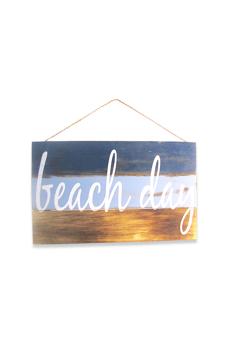Beach Day Wall Plaque