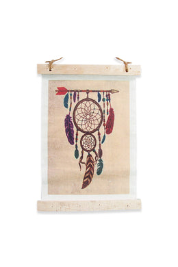 Arrow Dreamcatcher Canvas Wall Art