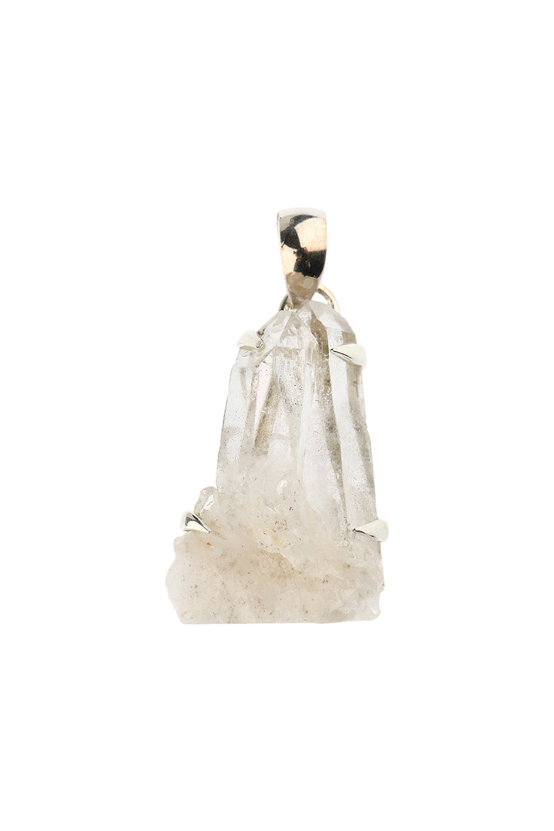 Raw Sunshine Quartz Pendant