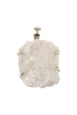 Raw Irregular Sunshine Quartz Pendant