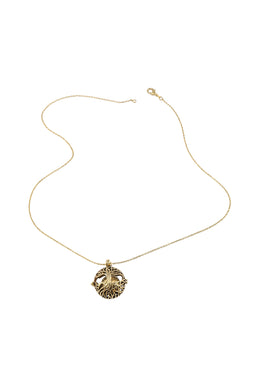 Brass Tree of Life Harmony Ball Necklace