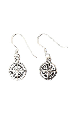 Northern Star Silver Earrings