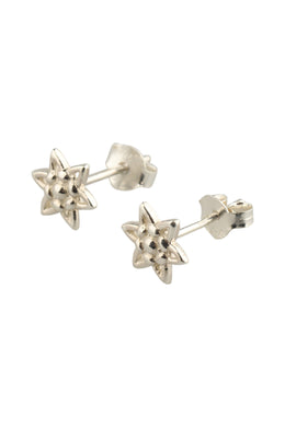 Pearl Star Stud Earrings
