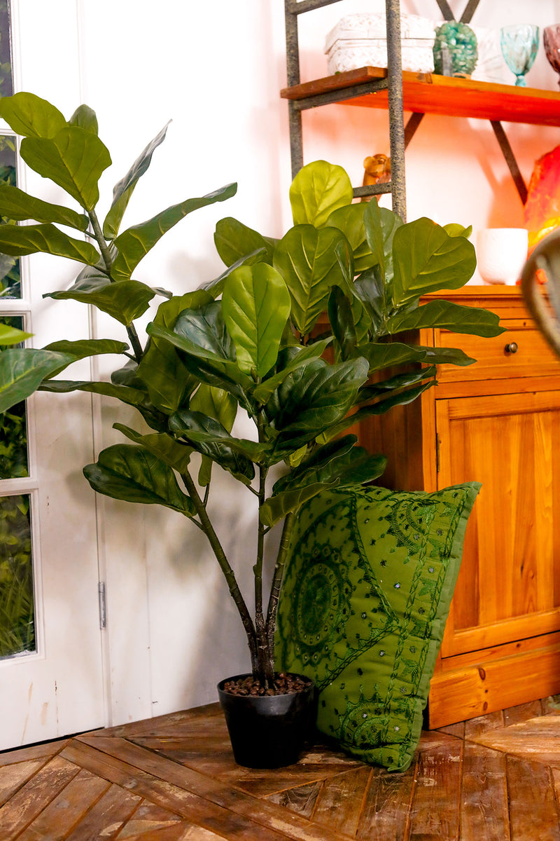 Artificial Fiddle Leaf Fig Pot Plant