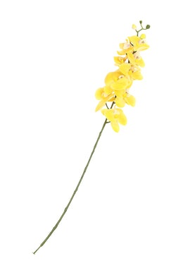 Artificial Yellow Phalaenopsis Flower