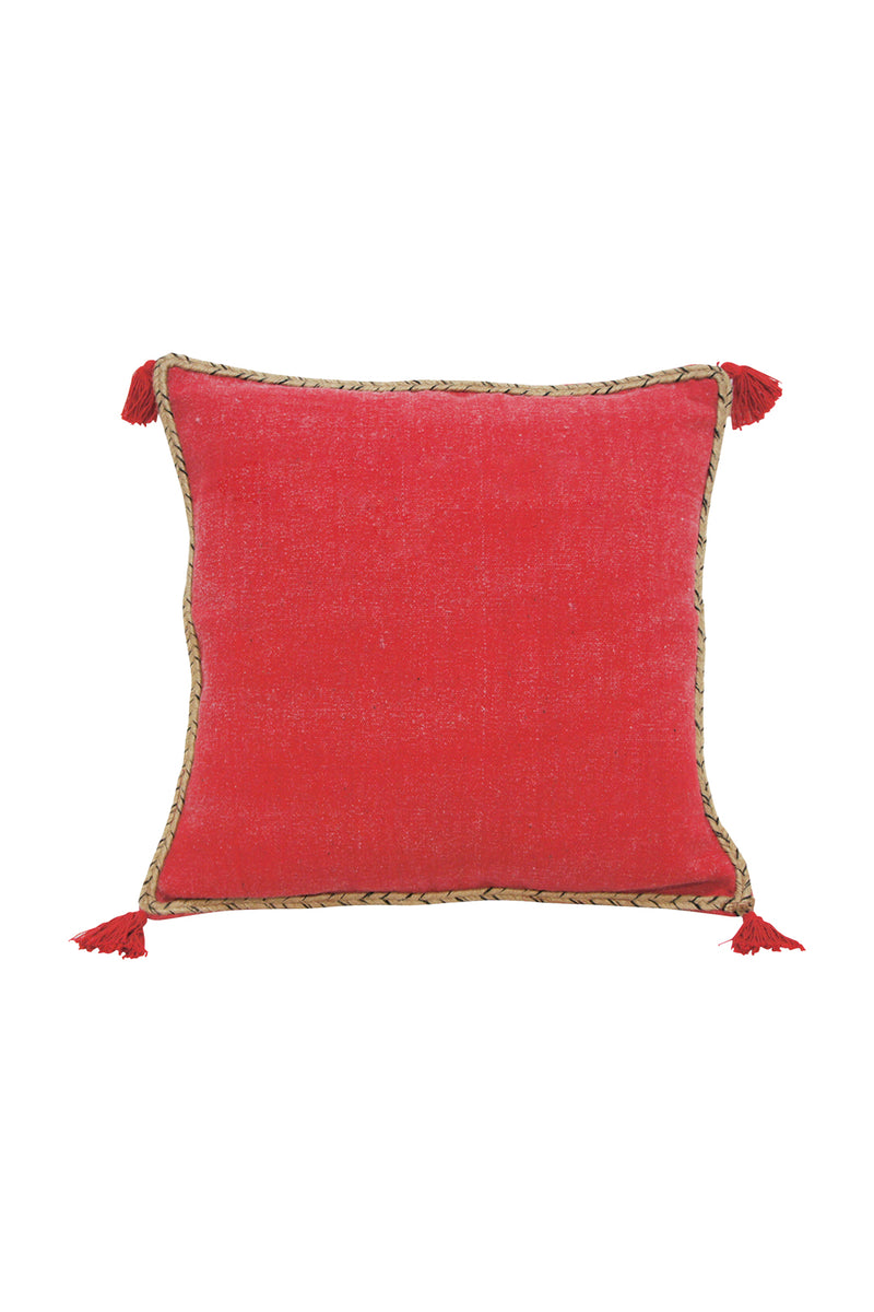 Tidal Red Cushion