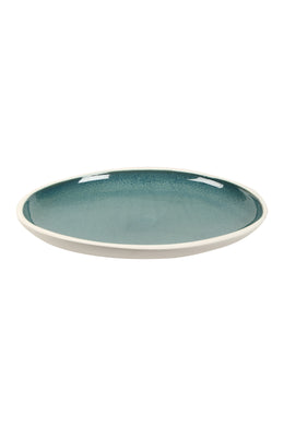 So Cinque Blue Ceramic Platter