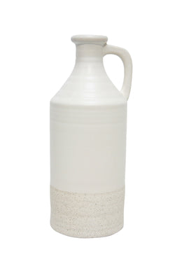White Pourer Ceramic Vase