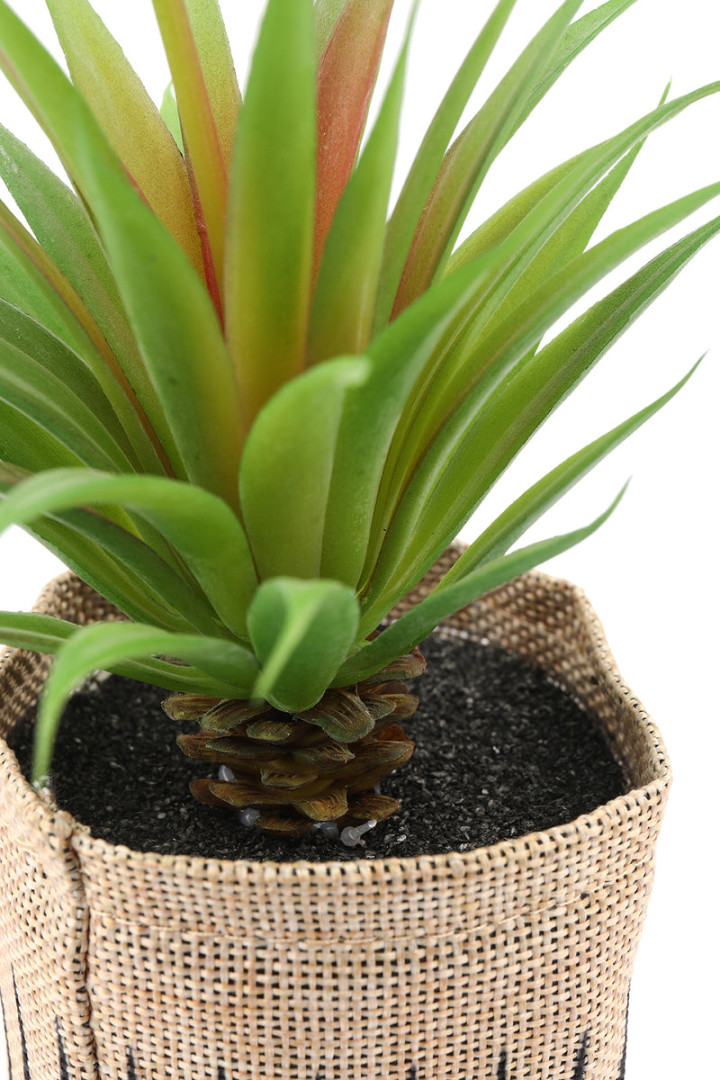 Artificial Sword Grass Flax Plant Pot