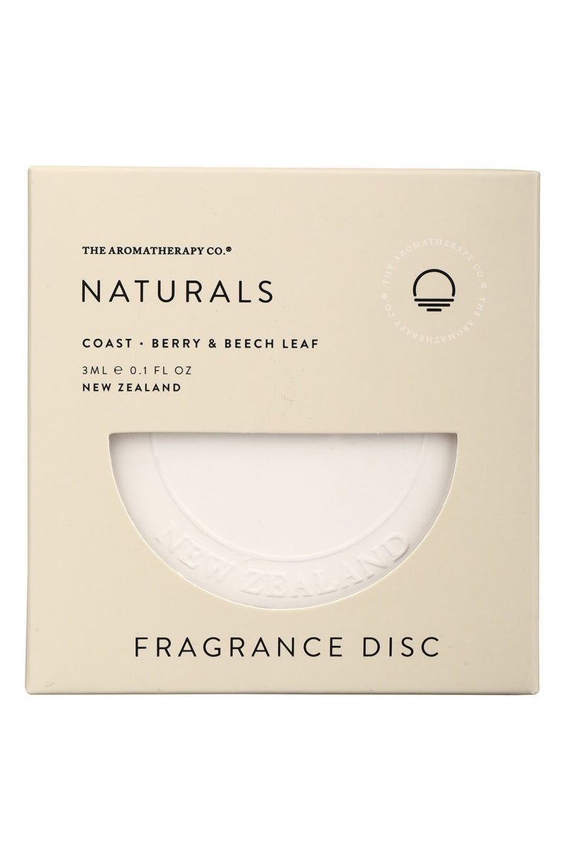 The Aromatherapy Co. Naturals Fragrance Disc