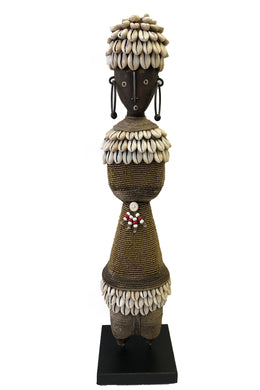 Beaded Ndamji Doll Round