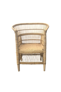Authentic African Natural Malawi Chair