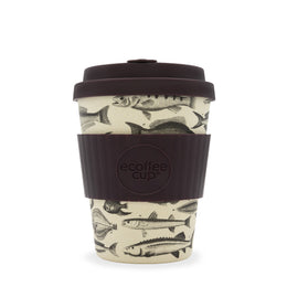 Ecoffee Cup 'Toolondo Fish Man' 12oz/340ml