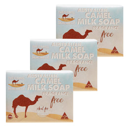 Australian Camel Milk (Fragrance Free) Soap x3