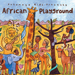African Playground Kids CD