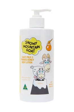 Goats Milk + Manuka Honey Body Lotion