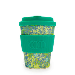 Ecoffee Cup William Morris 'Seaweed Marine' 12oz/340ml