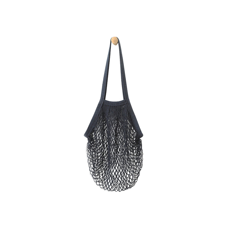 Beehave 100% Cotton Net Tote Bag 'Black'