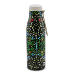 William Morris Stainless Steel Hot/Cold Vacuum Flask Drink Bottle 500ml 'Blackthorn'